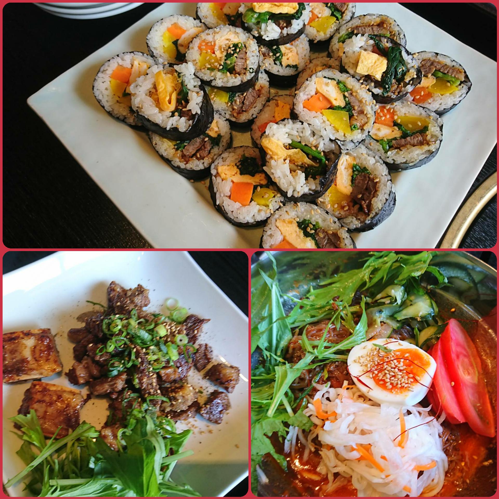韓国家庭料理「トラジ」